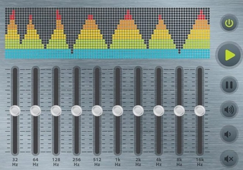Equalizer And Soundbar - Free vector #359563