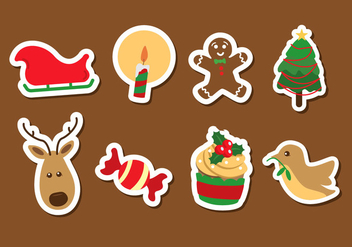 Christmas Icon Vector - Free vector #359573