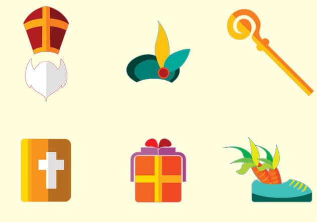Sinterklaas Icon Vector - бесплатный vector #359633