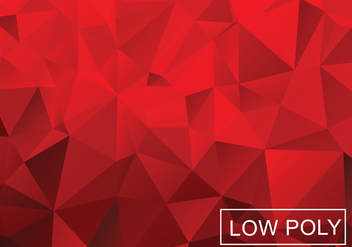 Low Poly Vector Background - vector gratuit #359983