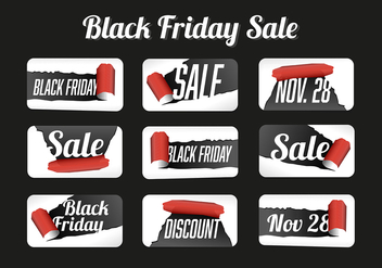 Free Black Friday Vector Background - vector gratuit #360023