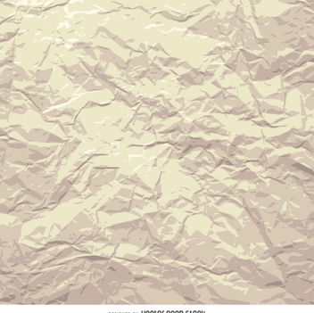 Grunge crumpled paper - Free vector #360043