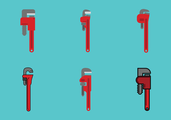 Free Monkey Wrench Vector Illustration - vector gratuit #360203