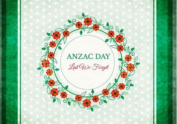 Free Anzac Vector Background - бесплатный vector #360453