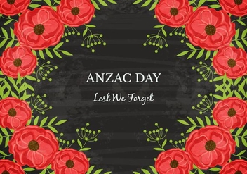 Free Anzac Vector Background - vector gratuit #360493