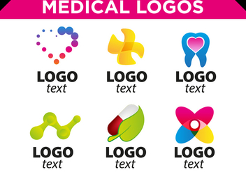 Medical Logos Templates Free Vector - бесплатный vector #360573