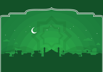 Vector Ramadhan Background - Free vector #360583