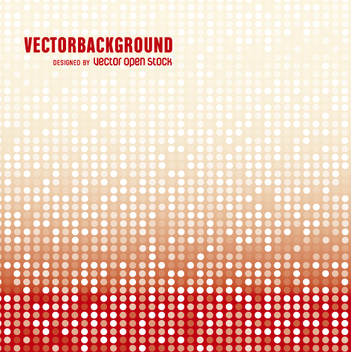 Red and white gradient abstract background - Free vector #360753