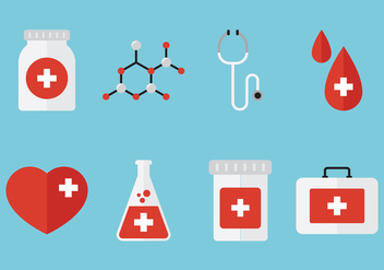 Medical Flat Icon - Free vector #360843