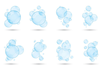 Soap Suds Collection - vector gratuit #360973