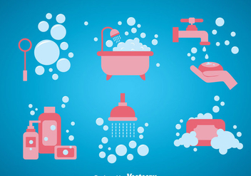 Bathroom Vector Sets - Free vector #361183