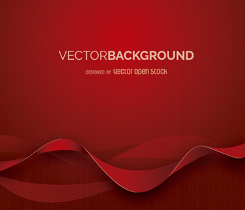 Abstract background with red shapes - vector gratuit #361323