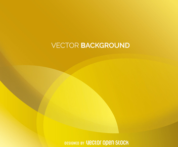 Yellow abstract backdrop - vector gratuit #361423