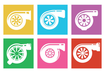 Turbocharger Vector - vector gratuit #361663