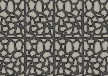 Free Stone Path Pattern #1 - vector gratuit #361963