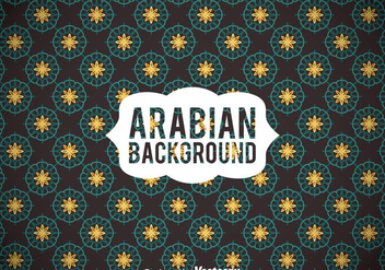 Arabian Elegant Ornamet Background - бесплатный vector #362063