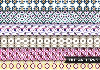 Tile Patterns Vector Free - Free vector #362403