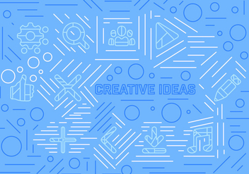 Free Vector Creative Ideas - бесплатный vector #362423