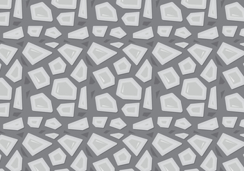 Free Stone Path Pattern - vector gratuit #362543