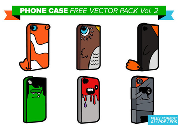 Phone Case Free Vector Pack Vol. 2 - Kostenloses vector #362873