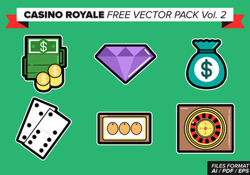 Casino Royale Free Vector Pack Vol. 2 - Kostenloses vector #363303
