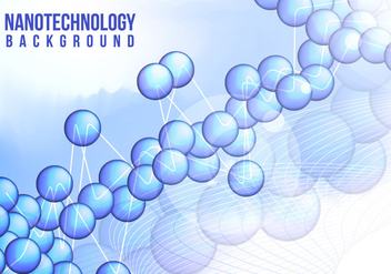 Nanotechnology Background Vector Free - Kostenloses vector #363543