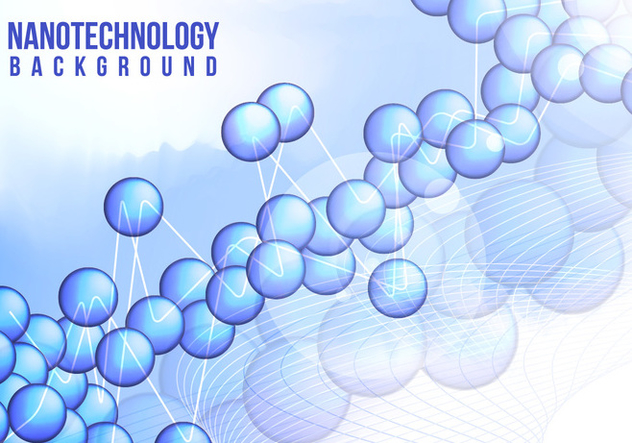 Nanotechnology Background Vector Free - Free vector #363543