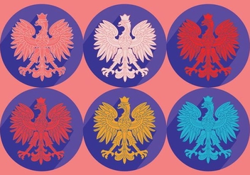 Polish Eagle Vector - vector #363583 gratis