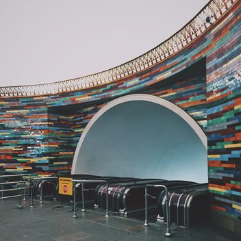 Interior of subway station - бесплатный image #363703