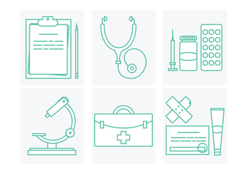 Medical Vector Icons - vector gratuit #364303