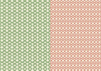 Green Linear Pattern - Free vector #364383
