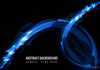 Vector Modern Glowing Background - vector gratuit #364643