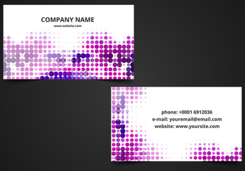 Free Vector Business Card Background - Kostenloses vector #364683
