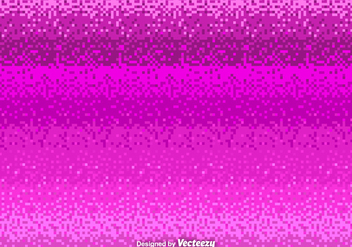 Pink Pixel Vector Background - Free vector #364793