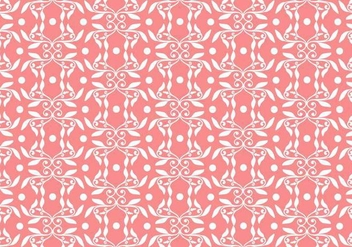 Free Vector Floral Background - Free vector #364893