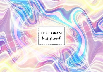 Free Vector Light Marble Hologram Background - Free vector #364943