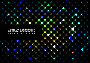 Vector Colorful Shining Glitters background - Kostenloses vector #365023