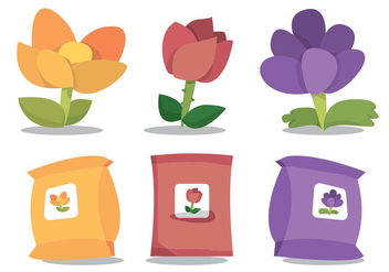 Carnation Vector Set - Free vector #365133