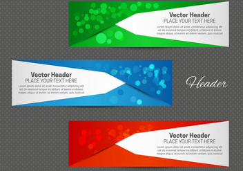 Free Abstract Header Vector - vector #365653 gratis