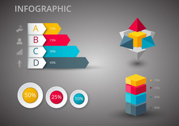 Free Infographics Design Vectors - бесплатный vector #365693