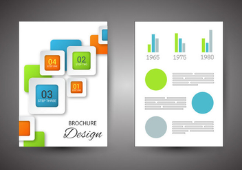 Free Brochure Design Vector - бесплатный vector #365703