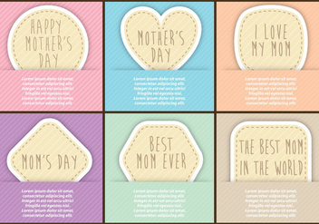 Mothers Day Flyers - vector gratuit #365833