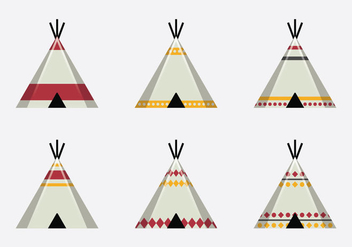 Free Tipi Vector Illustration - бесплатный vector #365853