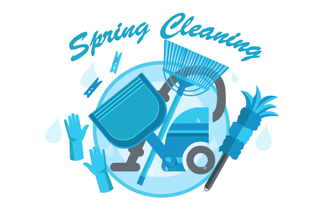FREE SPRING CLEANING VECTOR - vector gratuit #365873