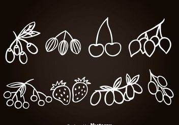 Barries Hand Drawn Icons - vector #366223 gratis