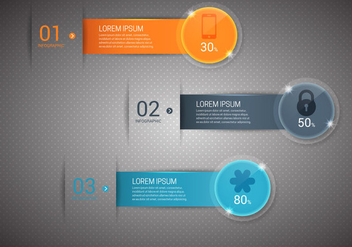 Free Bright Infographics Vector - бесплатный vector #366233