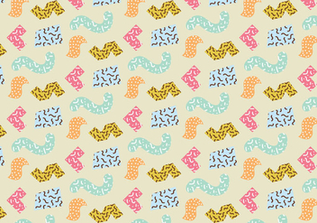 Random Abstract Pattern - vector gratuit #366533
