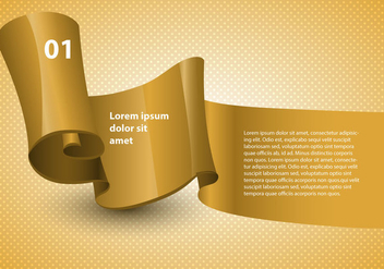 Free Design Ribbon Vector - Free vector #366893