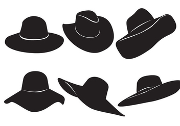 Free Woman Hat Vector - Free vector #366913