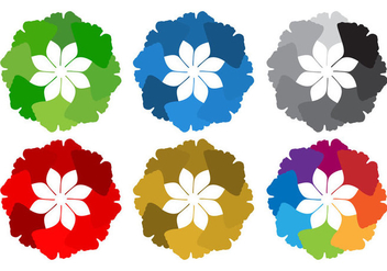 Free Round Ginkgo Leaves Vector - Kostenloses vector #366973